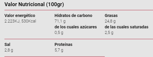 Triskys RISI- 115 gr - A Spanish Bite