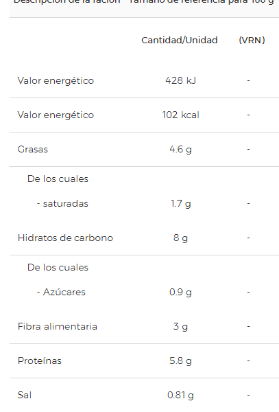 Lentejas a la Riojana Litoral- 430 gr - A Spanish Bite