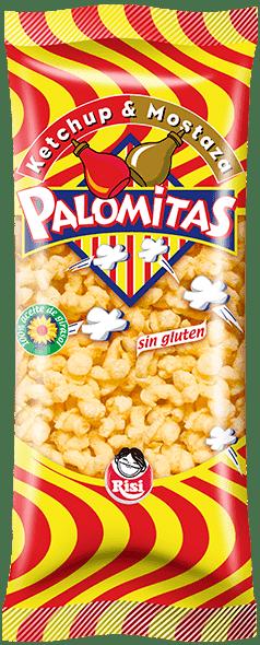 Palomitas Ketchup – Mostaza RISI- 90 gr - A Spanish Bite