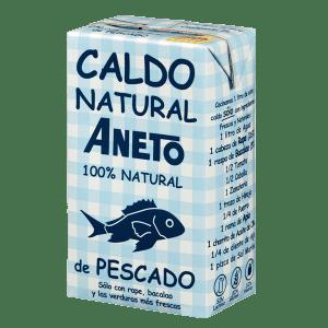 Caldo Natural de Pescado ANETO- 1L - A Spanish Bite