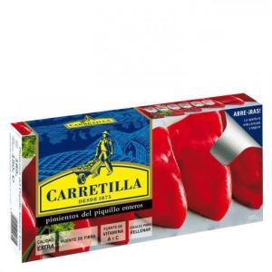 Pimientos del Piquillo enteros extra CARRETILLA - A Spanish Bite