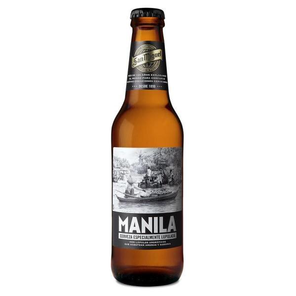 Cerveza Manila SAN MIGUEL - Botella 33 cl - A Spanish Bite