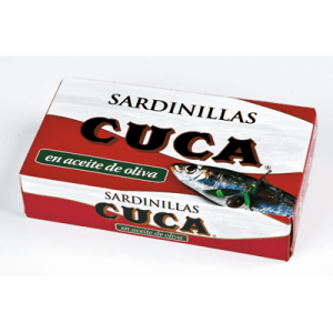 Sardinillas en Aceite de Oliva CUCA - A Spanish Bite