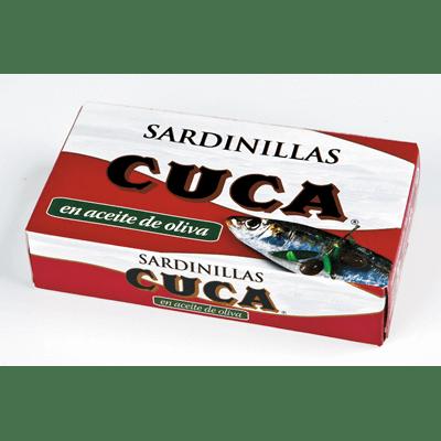 Sardines in Olive Oil CUCA - A Spanish Bite