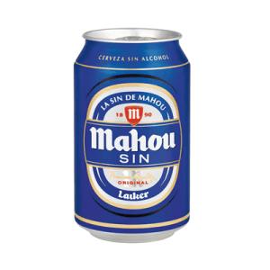Cerveza Sin Alcohol MAHOU- Lata 33 cl - A Spanish Bite
