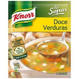 Sopa 12 Verduras KNORR - A Spanish Bite
