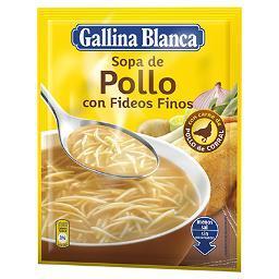Sopa de Pollo con Fideos GALLINA BLANCA - A Spanish Bite