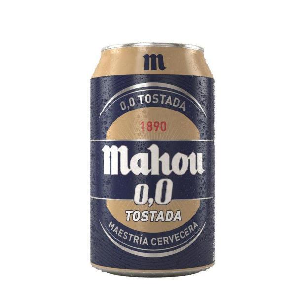 Cerveza 0,0 Tostada MAHOU - Lata 33 cl - A Spanish Bite