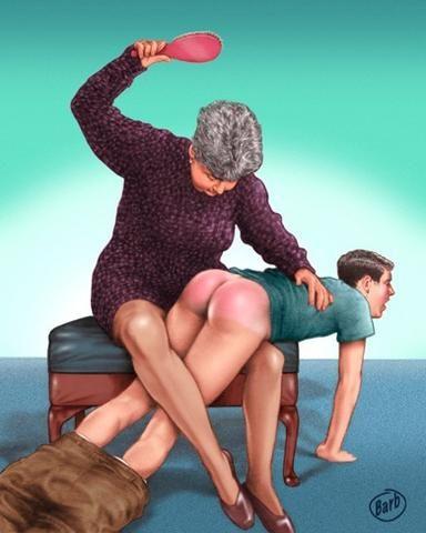 jay em spanking art