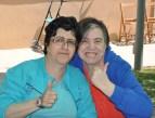 Mati y Trini, amigas inseparables