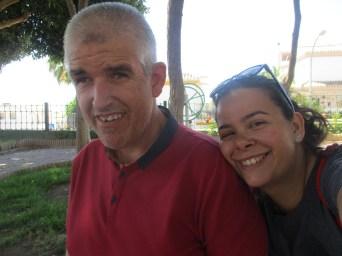 José Antonio con Alicia.