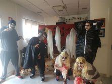 Terroríficas fiestas de Helloween.
