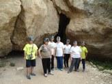 Visitando las cuevas de Sorbas