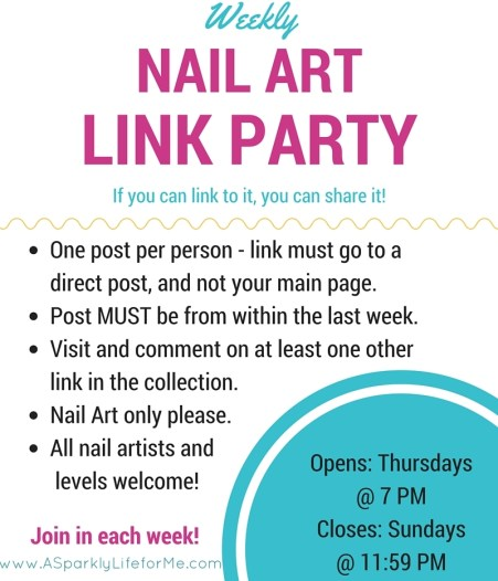 Weekly Nail Art Link Party