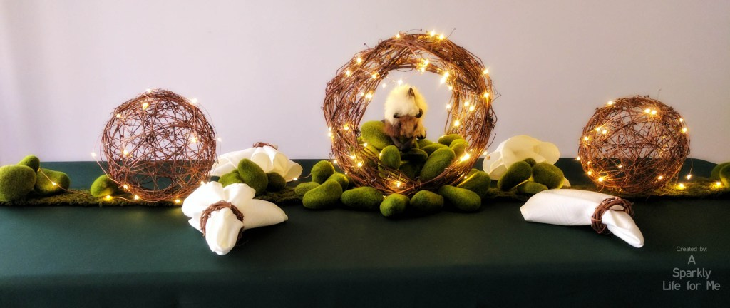 Enchanted Fairy Light and Grapevine DIY Table Decor and Centerpiece – by A Sparkly Life for Me