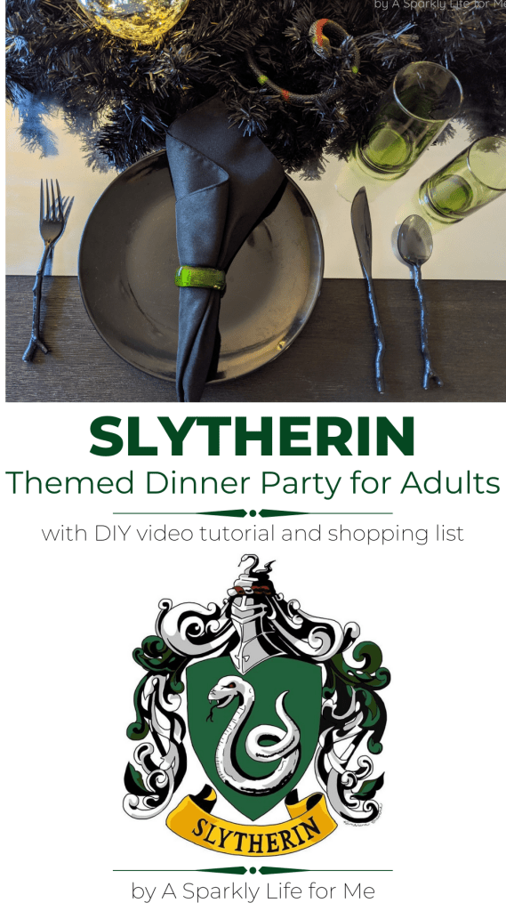 Back to Hogwarts: Slytherin Themed Dinner Party for Adults
