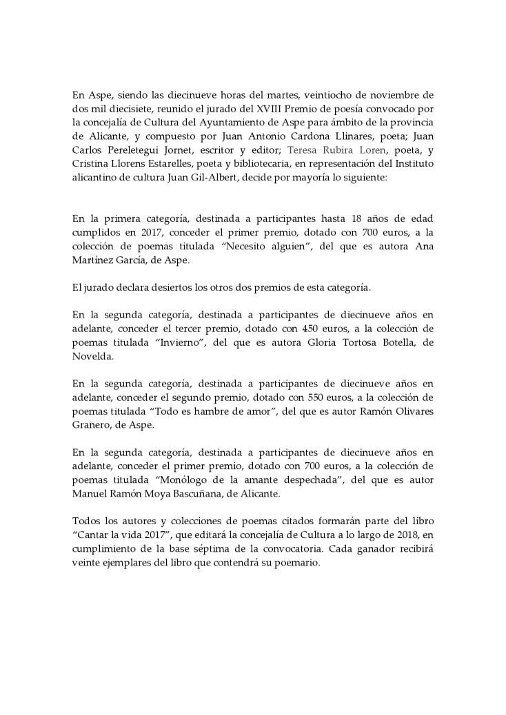 ACTA JURADO POESIA