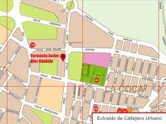 Foto de la ubicación de la Farmacia D. Javier Diez Canicio