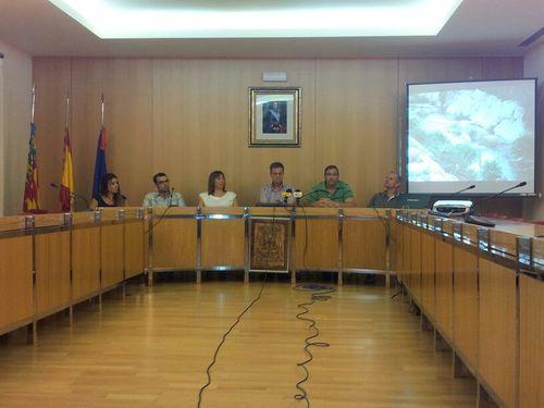 Presentación asociación Salón Plenos