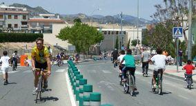 Una imagen de Jornada ciclovía