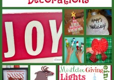 100 Jolly Christmas Crafts & Decorations - A Spectacled Owl