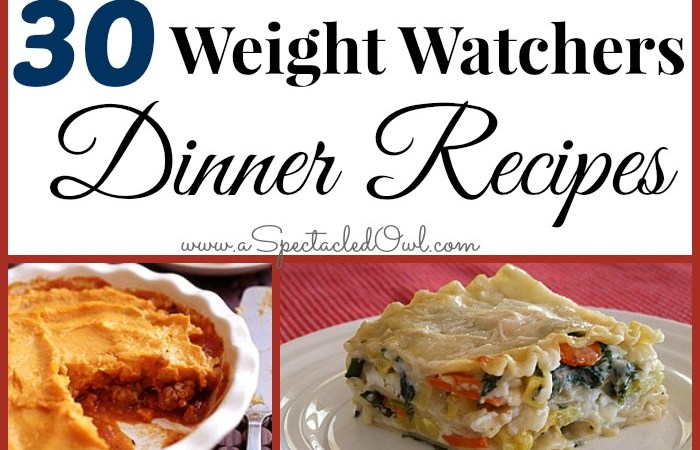 30 Weight Watchers Dinner Recipes