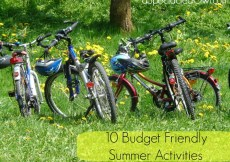 Budget Friendly Summer Activities