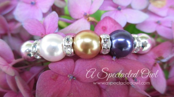 Customizable Mother's Bracelets from Pearls by Laurel
