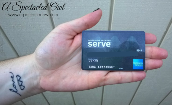 American Express Serve® Cash Back Card