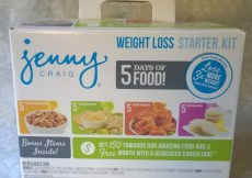 Losing Weight with Jenny Craig #JennyCraigKit