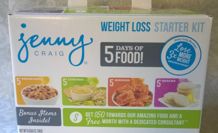 Losing Weight with Jenny Craig #JennyCraigKit