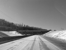 headed south on a sanded and salted us hwy 31 at brookwood hospital