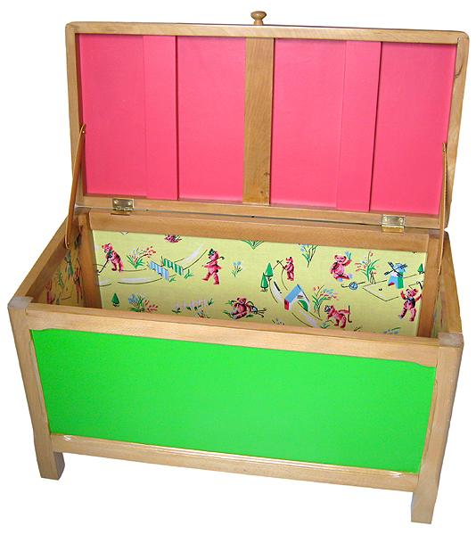 coffre à jouets année 50 pour enfant