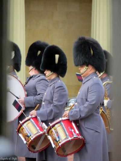 Buckingham Palace Guard's change