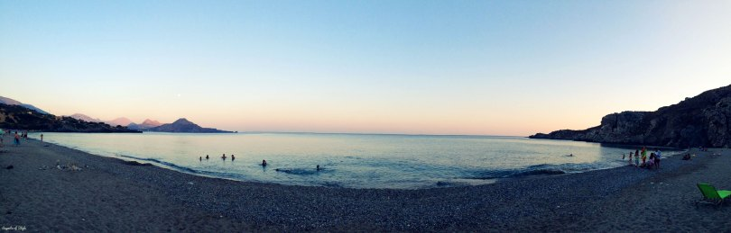 Souda beach, Plakias, Crete