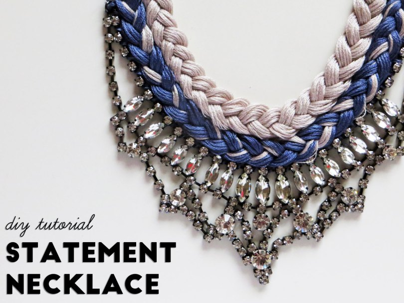 DIY Tutorial: Statement Necklacs