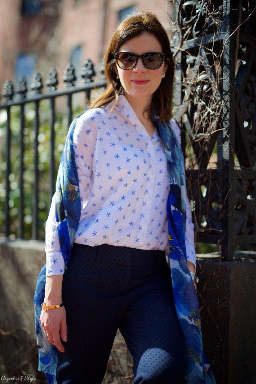Ann Taylor shirt and pants