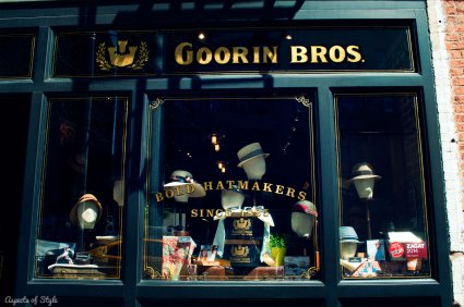 Goorin Bros hatmakers at Bleeker street, NYC