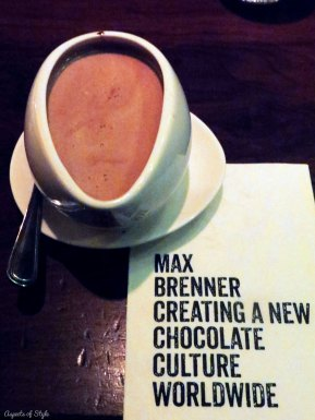 Max Brenner Chocolate Bar Boston