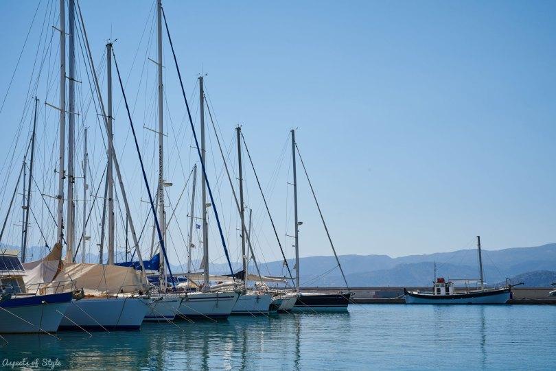Agios Nikolaos marina, Crete, Greece