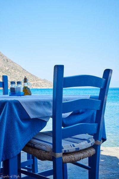 Ostria restaurant, Plaka, Crete, Greece