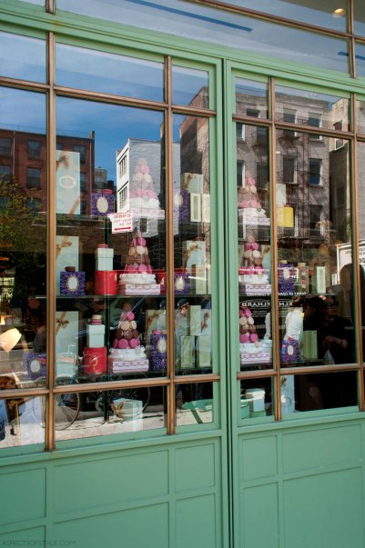 Laduree store in SoHo, New York City