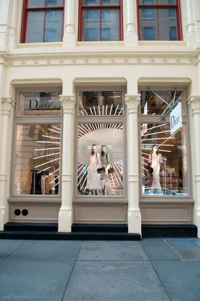 Dior Store in SoHo, New York City
