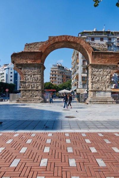 Galerius' arcade Thessaloniki (Kamara)