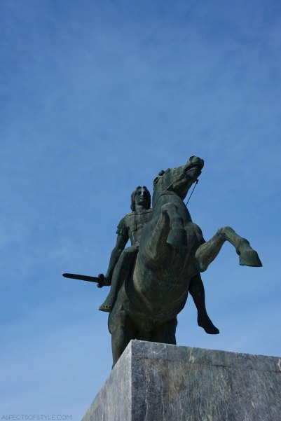 sculpture of Alexander the Great
