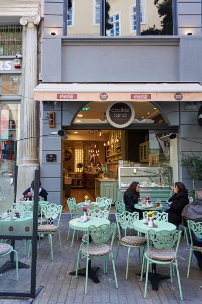 Cookie Land, Athens