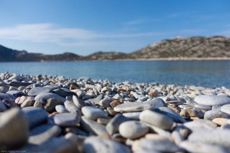 pebbles on the beach, Agios Pavlos, Amorgos, Greece