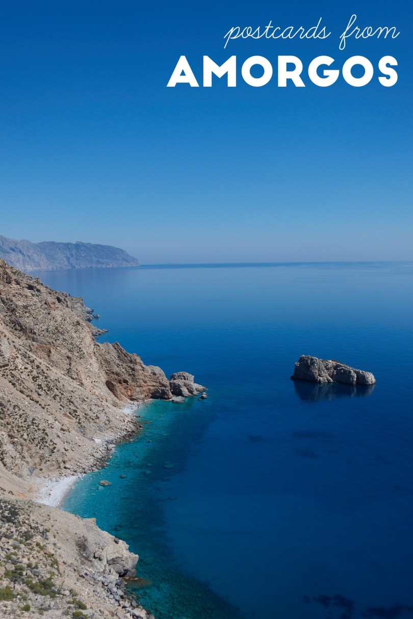 Postcards from Amorgos, Greece