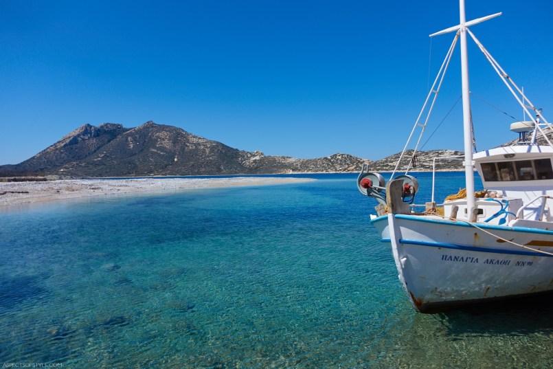 Agios Pavlos beach, Amorgos Greece