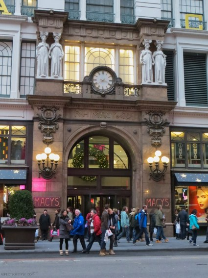 Macy's department Store, New York City